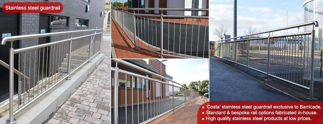 Click to view our range of Stainless Steel Guardrail and Handrail.