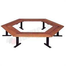 Rio timber bench