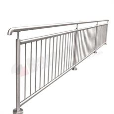 Stainless steel guardrail