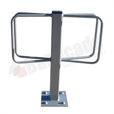 Surface mounted cycle stand - Double