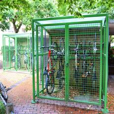 Parma cycle shelter