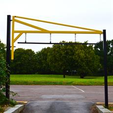 Height Restriction Barrier - Pivoting Gate Top