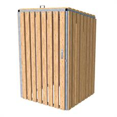Wheelie Bin Store - Timber Slats