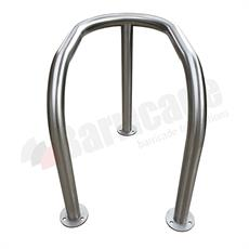 Stainless Steel Column Guard - 3 Leg