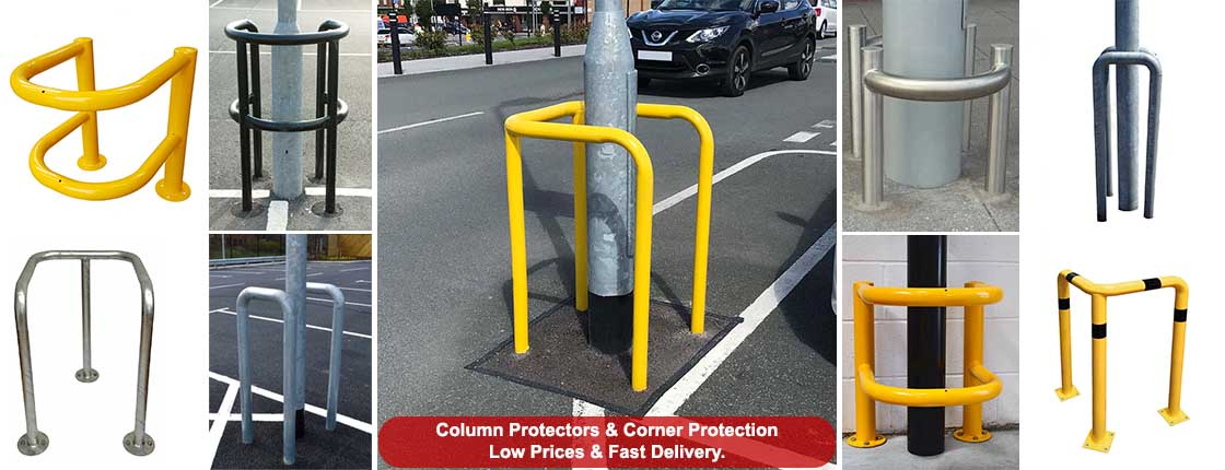 Click here to view our range of Column Protectors, Lamppost Guards & Corner Protection.