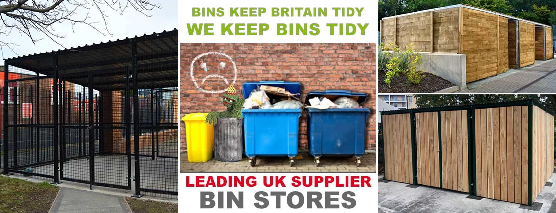 Click to view our range of Timber Bin Storage Compounds.
