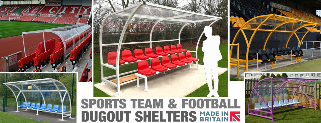 Click here to view our range of dogouts and sports shelters