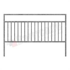 Pedestrian Guardrail Barriers