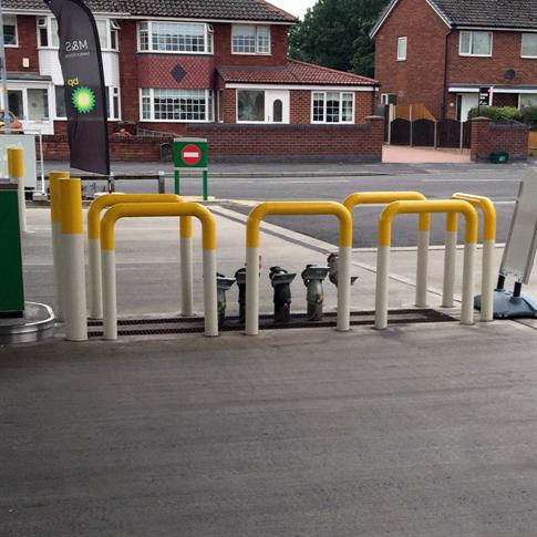 Forecourt protection hoop barrier product gallery image
