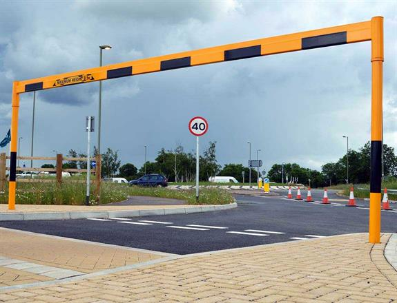 Height Restriction Barrier - Fixed Type product gallery image