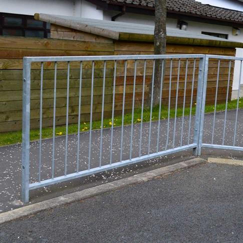 Pedestrian guardrail - No Sight top product gallery image