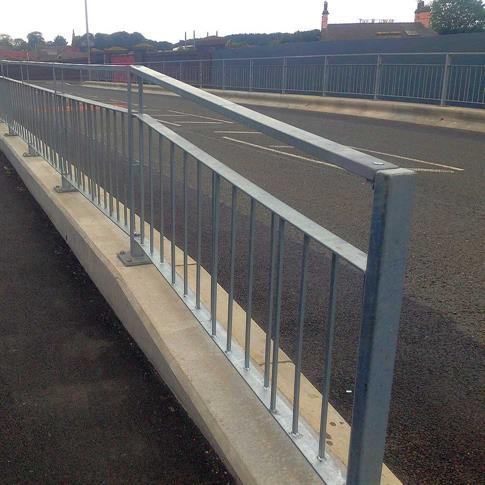 Pedestrian guardrail - with Sight top product gallery image