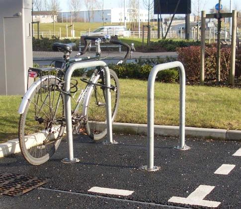 Sheffield Cycle Stand - Steel product gallery image