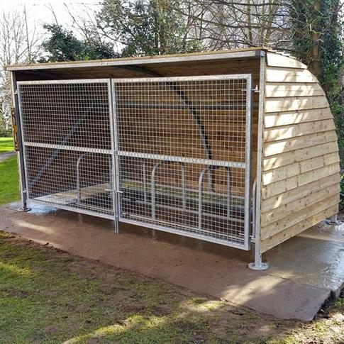 Sherwood cycle shelter product gallery image