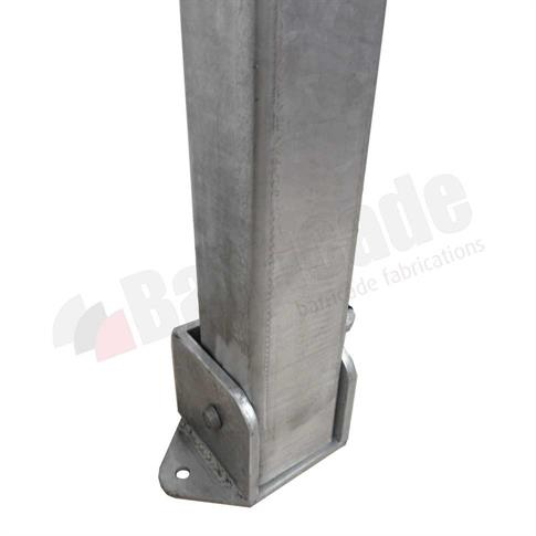 Square Fold Down Parking Bollard product gallery image