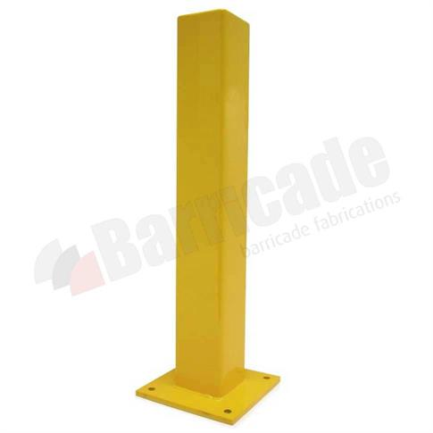Square Steel Bollard - Base Plate product gallery image