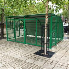 Roma cycle shelter
