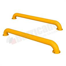 HGV wheel guide loading bay barrier (Pair) product image