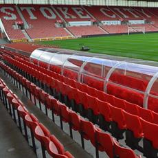 Stadium dugout shelter product image