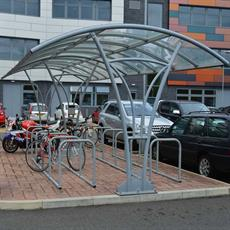 Turin Cycle Shelter product image