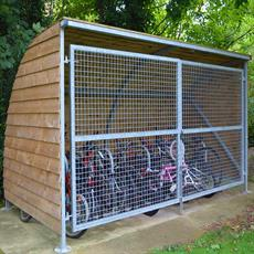 Sherwood cycle shelter product image