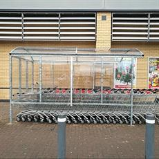 Supermarket Trolley Shelter product image