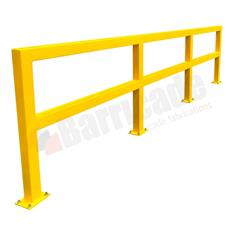 Warehouse guardrail safety barrier product image