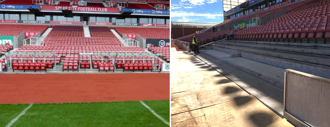 Stoke City Football Club project at Barricade Ltd