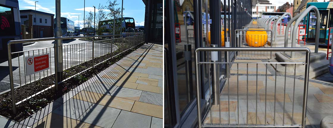 Kier Construction - Bolton Bus Interchange project at Barricade Ltd